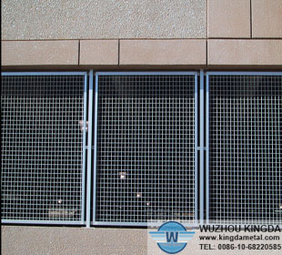Security mesh window guard
